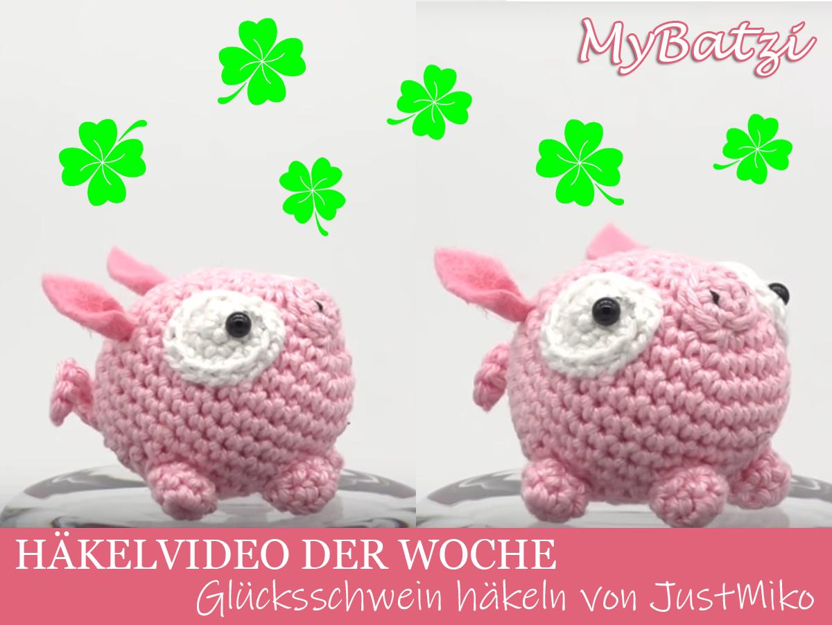Videotutorial Glücksschwein Häkeln